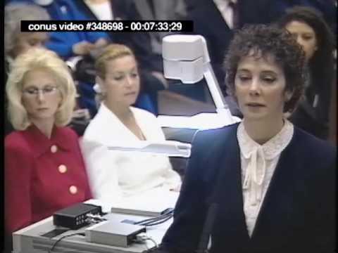 OJ Simpson Trial - January 24th, 1995 - Part 2 (Last part)