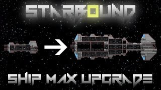 видео Starbound как улучшить корабль в версии 1.0