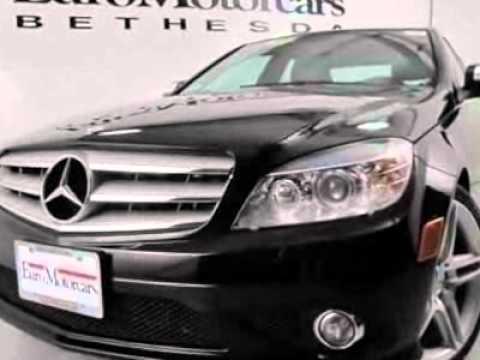 2008 mercedes benz c class c350 sedan bethesda md youtube for Mercedes benz bethesda md