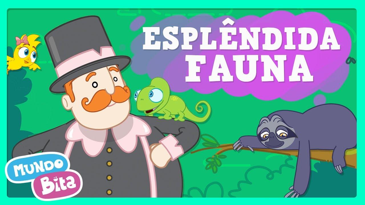 Mundo Bita - Esplêndida Fauna ft. Jr Black [clipe infantil]