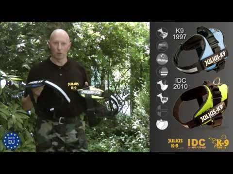 K9® dog harness vs. IDC® dog harness - official test by manufacturer