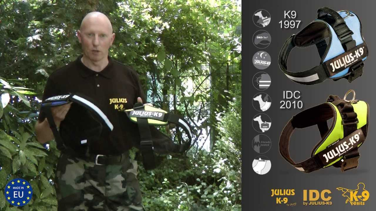 K9 Dog Harness Vs Idc Dog Harness Official Test By Manufacturer Youtube