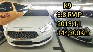 베이지시트 K9 3.8RVIP 14년식 144,300K…