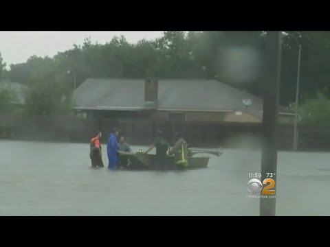 Overnight Rains Put Texas City Underwater