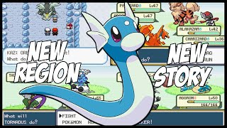 Completed Pokemon Gba Rom Hack With New Region,New Story,Enhanced graphics and more!