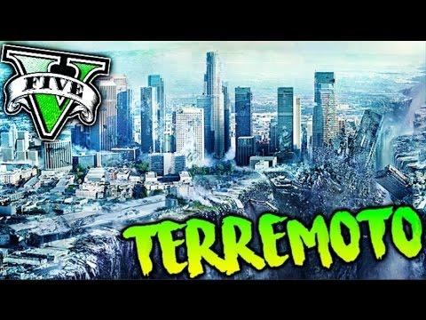 GTA V MOD TERREMOTO EN LOS SANTOS !! TODO DESTROZADO WTF?? GTA 5 MODS PC Makiman