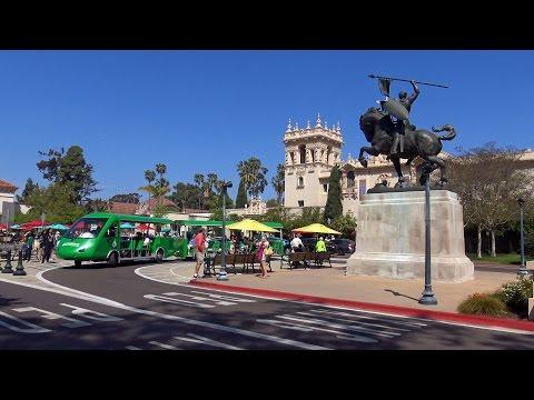 Amazing Balboa Park - San Diego 2016 in 4K