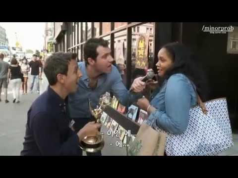 Billy On the Street : Special Emmy Edition (Korean sub)