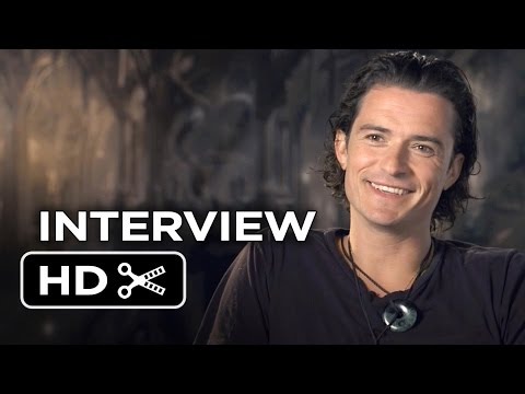 The Hobbit: The Battle of the Five Armies Interview - Orlando Bloom (2014) - Movie HD