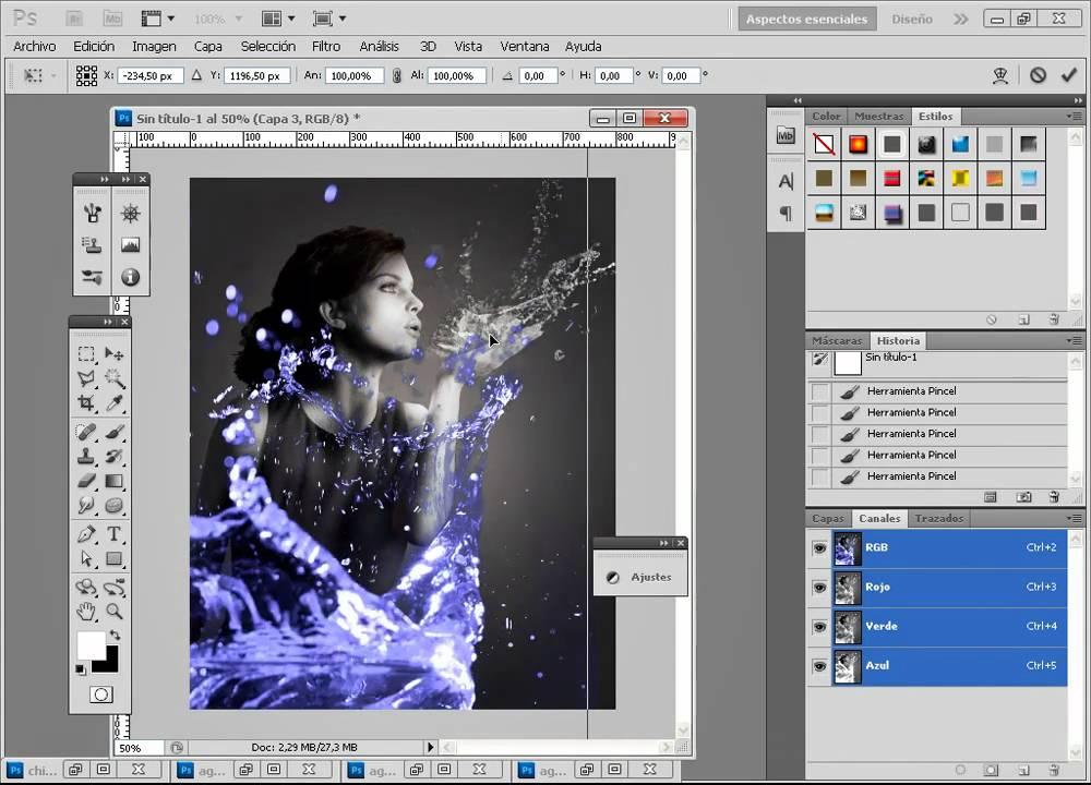 Tutorial Photoshop  Crear efectos de luz en Photoshop