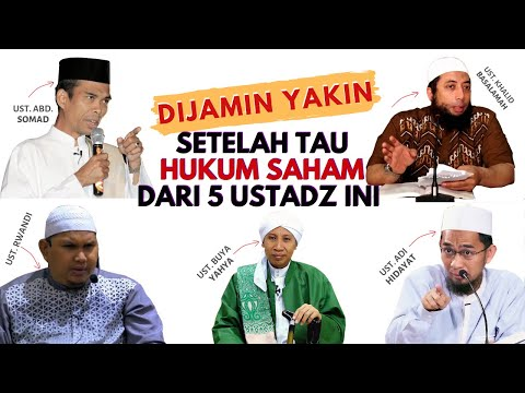 Hukum Trading/Main Saham Halal atau Haram - Menurut Adi Hidayat UAS Khalid Basalamah Buya Yahya
