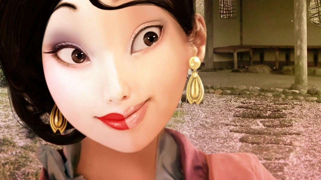 Real Life Mulan Disney Michelle Phan Youtube