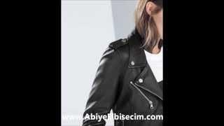 bayan deri mont deri ceket