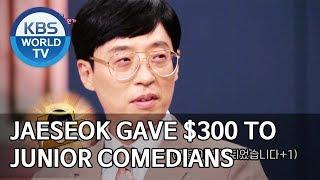 Jaeseok gave $300 to junior comedians [Happy Together/2019.09.12]