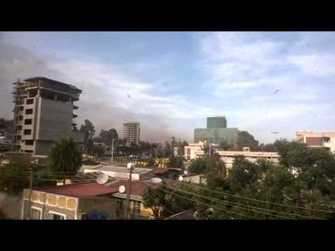 Massive invasion in Addis Ababa