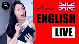 Anna English Live - Episode 3: RAILWAY FARES - Learn English Like A Native