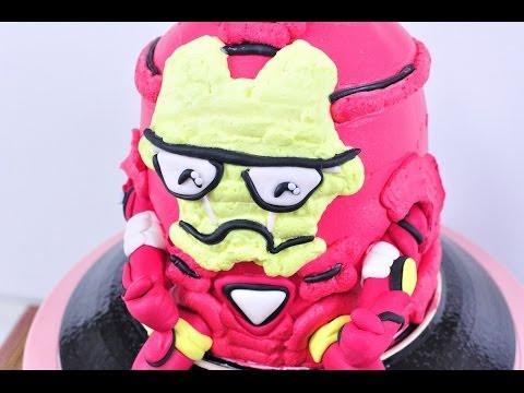 เค้กไอรอนแมน Iron Man Cake