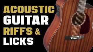 Acoustic Guitar Riffs & Licks