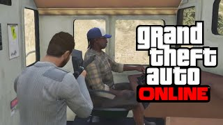 GTA 5 Glitches - 10 Glitches & Tricks on GTA 5 Online (Drive Trains, First Person, Secret Locations)(10 Glitches & Tricks on GTA 5 Online! Drop a Like on the video & Subscribe for more GTA 5 Glitches More GTA 5 Glitches & Tricks ..., 2014-11-09T21:24:00.000Z)