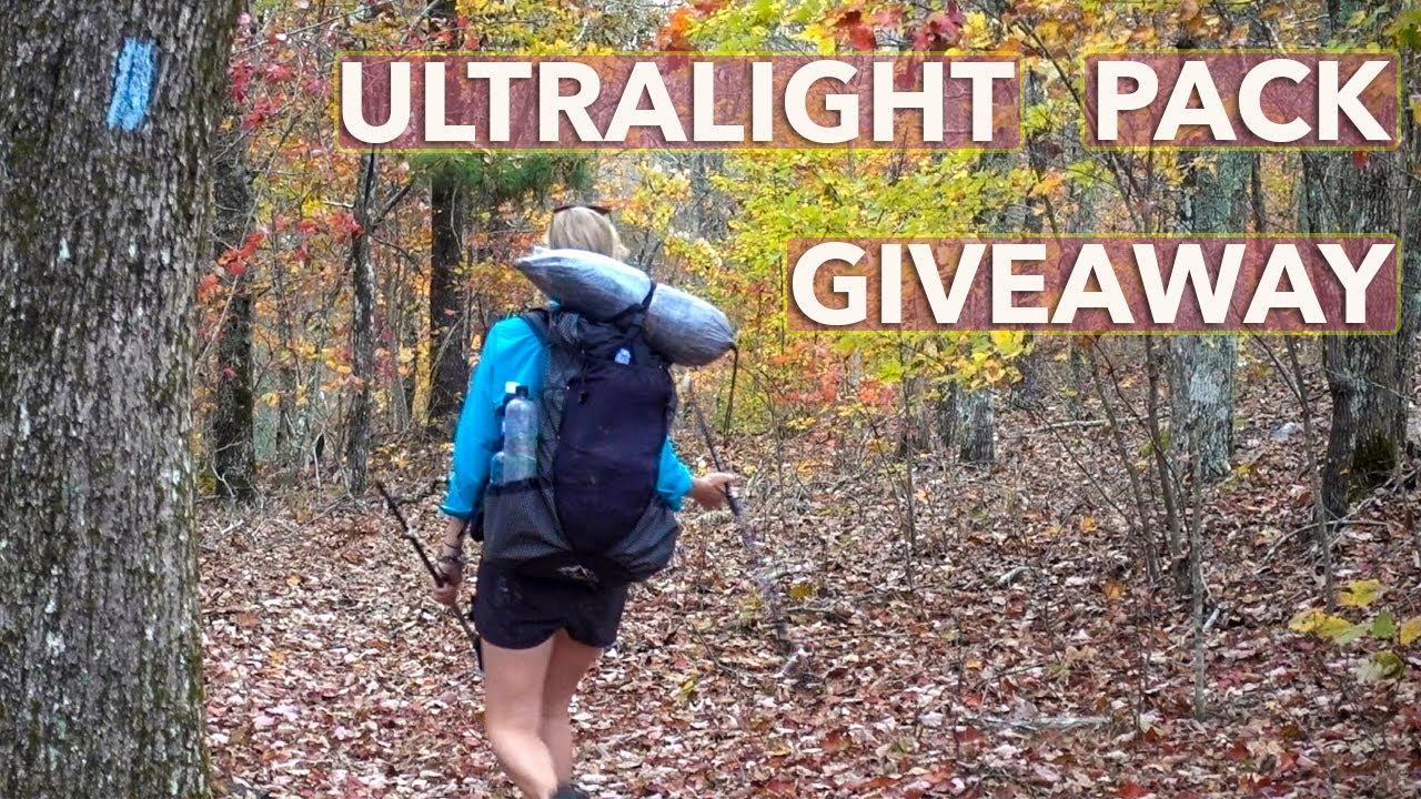 Free Ultralight Pack (ULA Ohm 2.0, Zpacks Arc Haul, Gossamer Gear Mariposa, HMG Southwest 3400, etc)