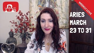 Aries X True love after ending a burden X MARCH 23RD-31ST 2019 WEEKLY TAROT LOVE READINGS