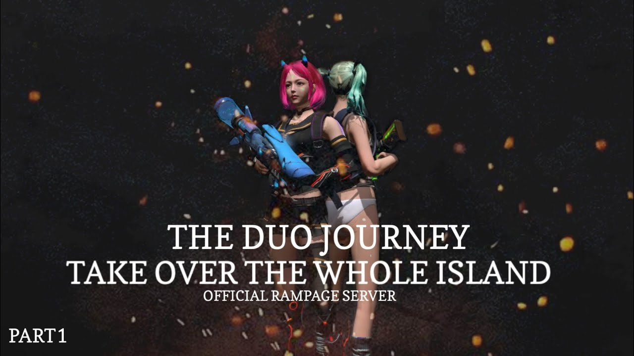 THE BEST START - DUO JOURNEY PART 1  - Last Island Of Survival - Last Day Rules Survival