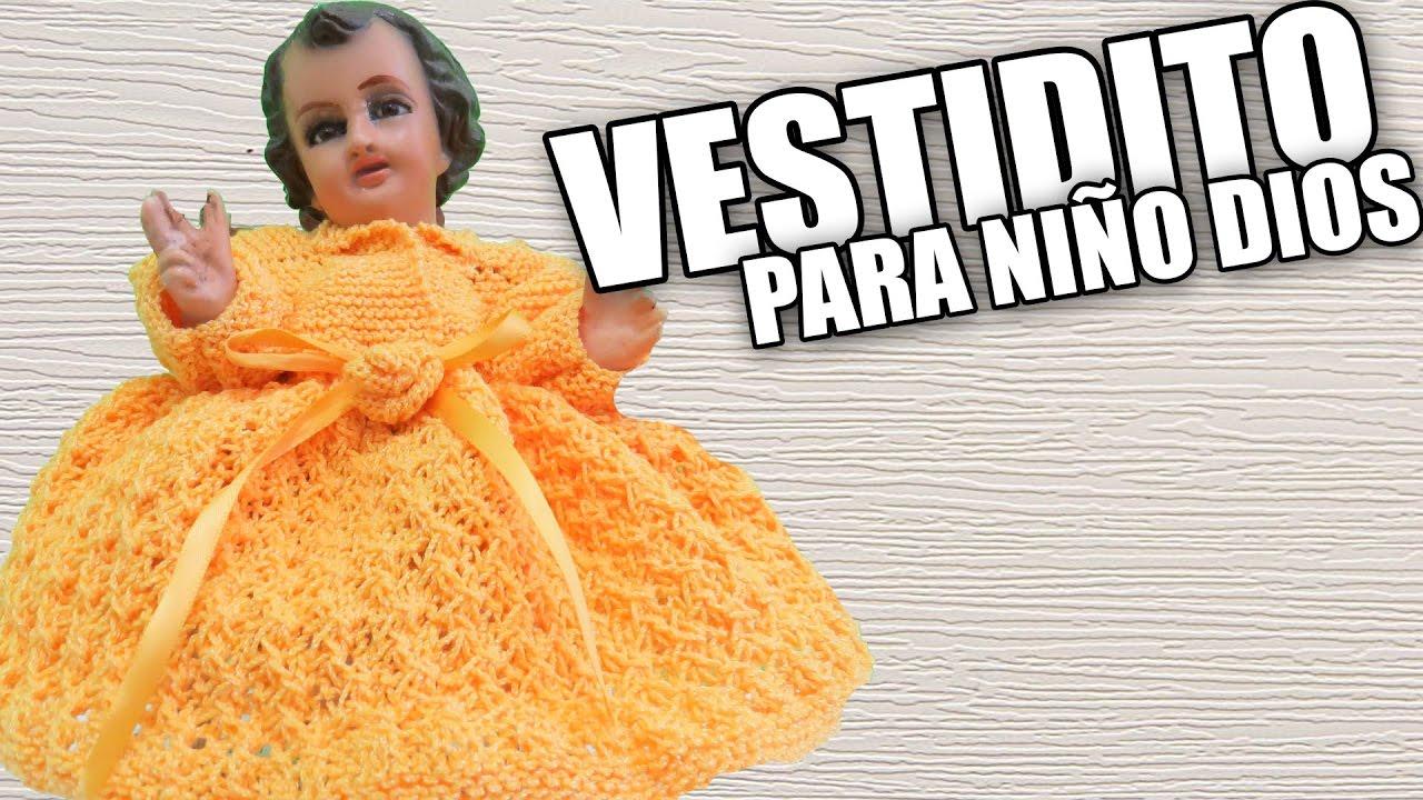 Vestidito Niño Jesús Pequeño