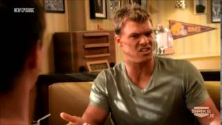 Blue Mountain State - Thad Freaking Out At The Diner