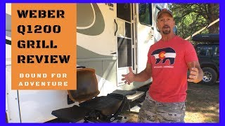 THE WEBER Q 1200 GRILL REVIEW//The best portable grill on the market