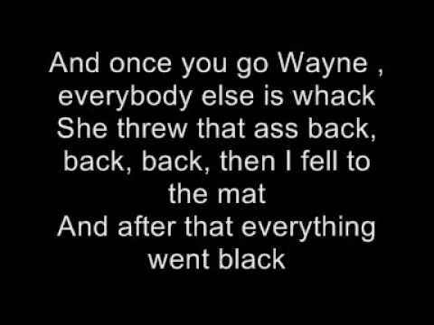 Lil Wayne feat Nicki Minaj - Knockout Lyrics