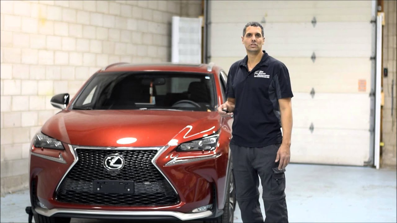 2015 Lexus Nx200t Remote Starter Installation Using Factory Basic Start Walkthrough On Your Nissan Infiniti Vehicle Csi Car Systems