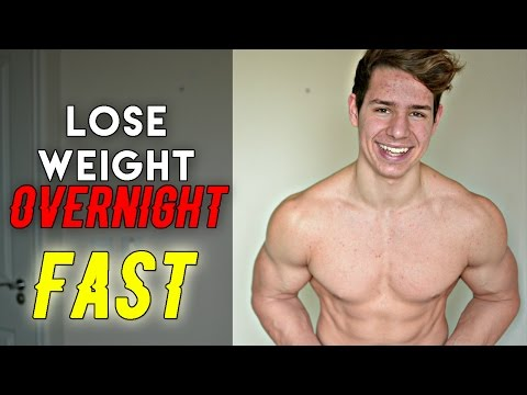 How To Lose Weight Fast Overnight For Teenagers (BURN FAT)