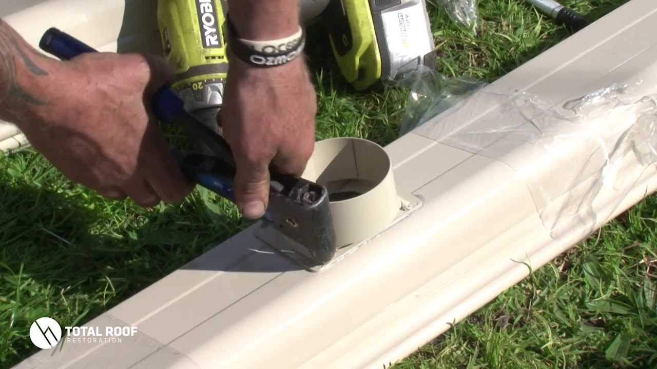 How To Install A Gutter Pop Youtube