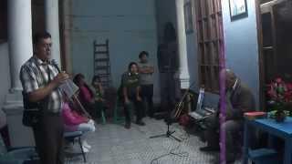 """""""GOTITAS DE AMOR"""" CON EL PADRE CHARLES PEÑA , ALFONSO CUZCANO, VERASLINDA SUAREZ y ANA KAM"""