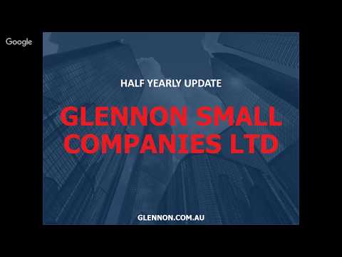 [Webinar] GC1 - Half-Yearly Update | Glennon Capital
