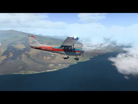 [X Plane 11| Kona Hawaii Ortho4XP Airfoillabs C172