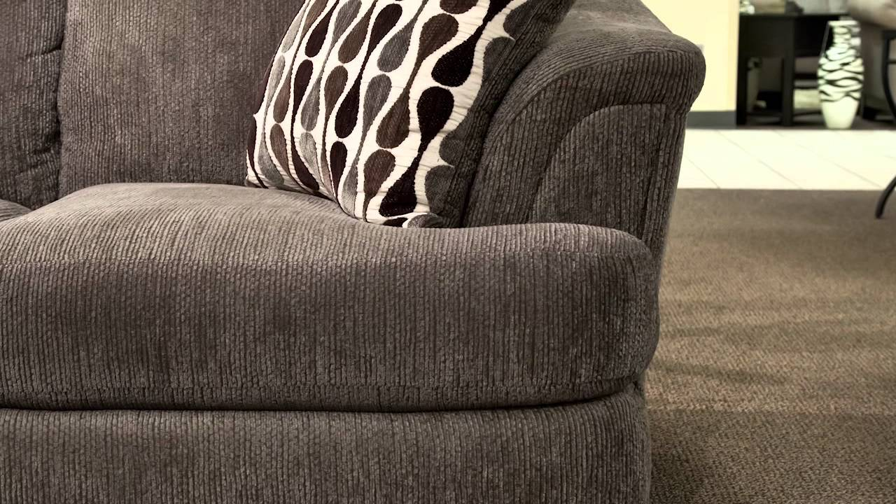 Corinthian Cruiser Gray Sofa And Loveseat Set. Nebraska Furniture Mart