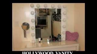 DIY Hollywood Girl Inspired Vanity Mirror