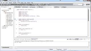 Java Tutorial Teil 47 - Abstract