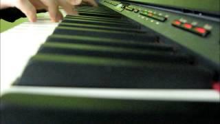 Tuomittuna kulkemaan - piano cover