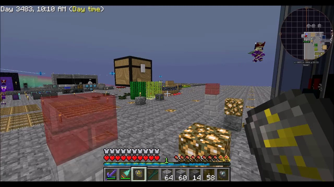 how to add veinminer to skyfactory 3 on twitch