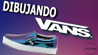 SPEED DRAWING: VANS @art_drawingg