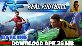 REAL FOOTBALL 2017 para (Android/IOS) gameplay Hd + download apk - leve e off-line pela gameloft