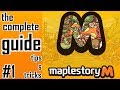 Maplestory M: Complete Guide to Maplestory M. #1 Beginner tips & tricks!