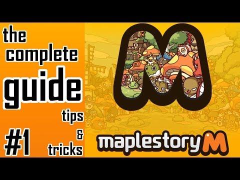 Maplestory M: Complete Guide To Maplestory M. #1 Beginner Tips & Tricks!