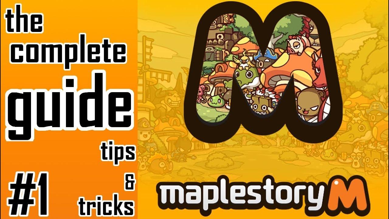 Maplestory M: Guide for Beginners (Tips and Tricks!) - Gamer Dan