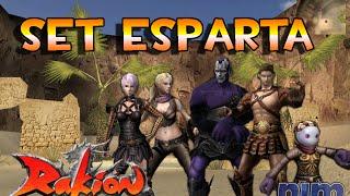 """Rakion - Nuevo """"Set Esparta""""  todos los personajes"""