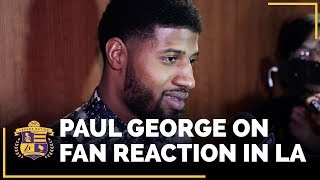Paul George Speaks Highly Of Lakers Young Core, Fan Reaction In L.A.