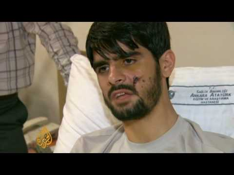 Turkish survivors recount terror on Gaza aid ship