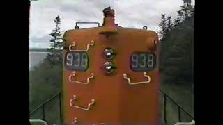 Newfoundland Railway #48 part 1 Sept.30, 1988 Last Ride Bishops to Corner Brook